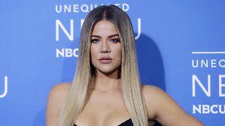 Promi-News des Tages: Bald-Mama Khloe Kardashian verrät Wunschnamen
