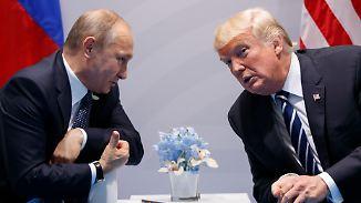 Seltsame Reaktion auf US-Klagen: Trump bleibt auf Kuschelkurs mit Russland
