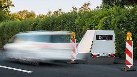 """Der sogenannte """"Enforcement Trailer"""" ist eine der letzten Innovationen, um Verkehrssünder zu erwischen."""