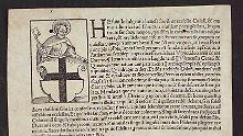 Fundsache, Nr. 1365: Erstes Ablass-Plakat für Kölner Dom entdeckt