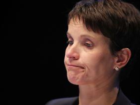 An Höcke und seinem Gefolge hat sie sich die Zähne ausgebissen: Ex-Parteichefin Frauke Petry auf dem Parteitag der AfD in Köln.