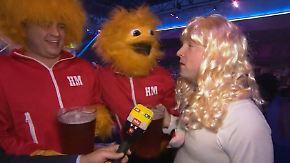 Darts-WM wird zum Karneval: Im Alexandra Palace tobt die Partyhölle