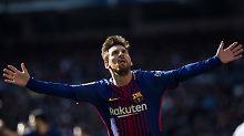 526. Pflichtspieltor für Barça: Messi knackt Uralt-Rekord von Gerd Müller