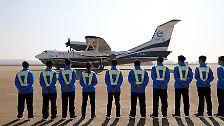 Jungfernflug in China: Weltgrößtes Amphibienflugzeug fliegt
