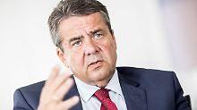 Mögliche Große Koalition: Gabriel stellt weitere Bedingungen an Union