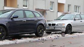 Vor allem Laternenparker haben in der Silvesternacht häufig den Schaden.
