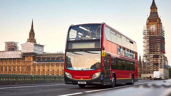 6000 Liter Kaffee-Diesel darf die Linie 148 in London verfahren.