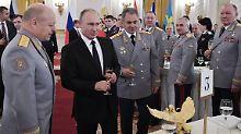 """""""Werden sofort liquidiert"""": Putin will hart gegen Terroristen vorgehen"""