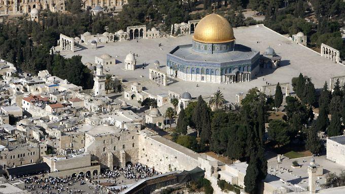 Der Streit darum, den Tempelberg als jüdisches Kulturerbe anzuerkennen, gilt als ein Auslöser für Israels Austritt.