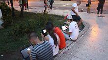 Mobiles Internet ab 2018: Kubaner surfen bald zu Hause
