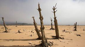 """Dramatische Dürre in Südafrika: Kapstadt rast der """"Stunde Null"""" entgegen"""