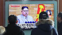 Winterspiele in Südkorea: Kim will Team zu Olympia schicken