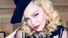 Lass sprießen!: Madonnas Tochter posiert pelzig