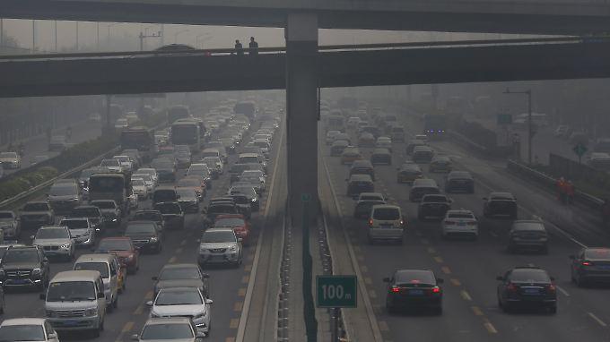 Ein bekanntes Problem: Die Luft in der chinesischen Hauptstadt Peking ist notorisch schlecht.