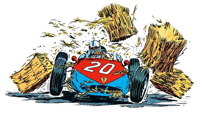 Michel Vaillant hat seit 1957 unzählige Abenteuer und alle Höhen und Tiefen des Motorsports durchlebt.