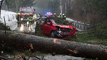 """""""Burglind"""" fegt über Europa: Orkanböen hinterlassen schwere Schäden"""