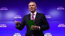 Brexit keine ausgemachte Sache?: Tony Blair warnt vor weiteren EU-Austritten