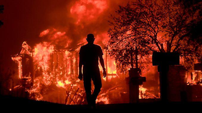 Brände in Kalifornien im Oktober 2017.