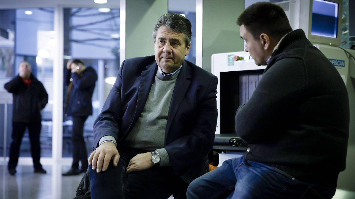 Gabriel fordert UN-Mission für Ostukraine