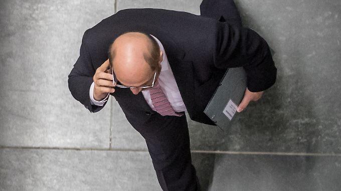 """Martin Schulz hatte sich auf dem vergangenen SPD-Parteitag die Nachrichtensperre und ein Ende der """"Balkonbilder"""" gewünscht."""
