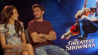 """Efron und Zendaya zu """"The Greatest Showman"""": """"Man verliebt sich in das Verlieben der Charaktere"""""""