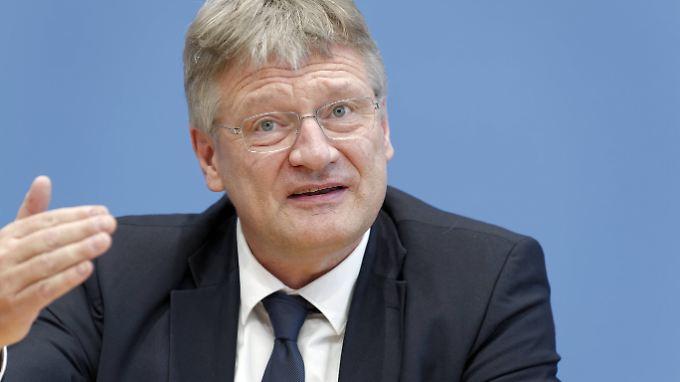 """AfD-Chef Jörg Meuthen kündigte """"weitreichende Maßnahmen"""" gegen den Abgeordneten Maier an."""