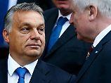 """""""Mehr Respekt"""" für Ungarn: Orban kontert Schulz-Kritik"""