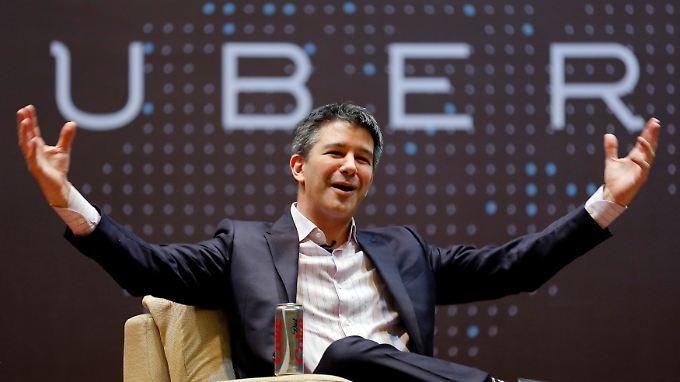 Erst gefeiert, dann abgestürzt: Uber-Gründer Kalanick.