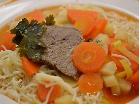 Auch bei einer Suppe gilt: gewusst wie.