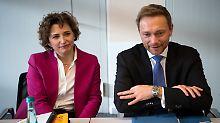 Diskussion um Position der FDP: Generalsekretärin dementiert Rechtsruck