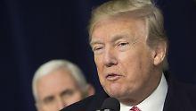 """""""Absolut, ich würde das machen"""": Trump würde mit Nordkorea reden"""