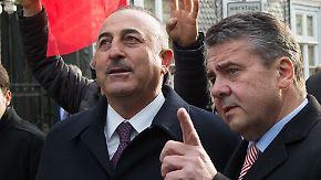 Ende der diplomatischen Eiszeit: Gabriel stellt Türkei Waffenlieferung in Aussicht