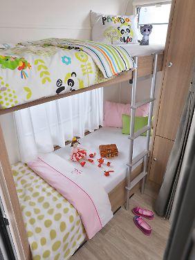 Für die Kinder gibt es im c'joy ein Doppelstockbett.