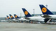 Die Hälfte der neuen Lufthansa-Mitarbeiter soll in der Kabine eingesetzt werden.
