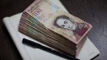 Teuerungsrate: 2616 Prozent: Venezuela stürmt in die Hyperinflation
