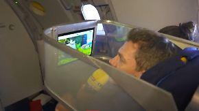 Wohlfühlen mit Tech-Neuheiten: Fliegendes Labor tüftelt an smarten Flugreisen