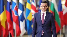 Kritische Minister entlassen: Morawiecki geht einen Schritt auf EU zu