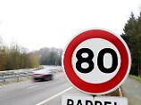 Viel Kritik an 80 km/h: Frankreich senkt Tempolimit