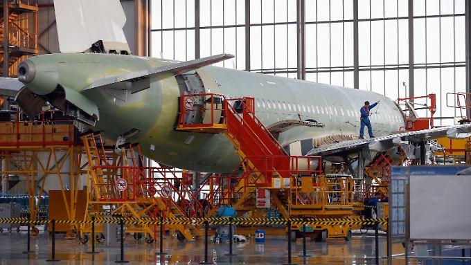 In China werden nicht nur mehr Airbus-Maschinen gebaut - bis 2020 gehen über 184 Flieger nach Fernost.