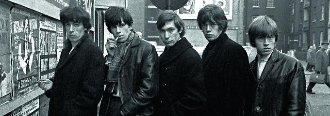 Nicht so hübsch wie die Beatles: Als die Stones ihre ersten Koffer kauften