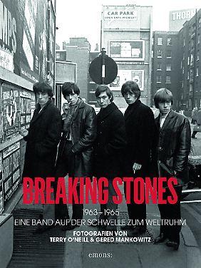 """""""Breaking Stones"""" ist bei Emons erschienen. 240 Seiten, 200 Abbildungen, gebunden, 39,95 Euro."""