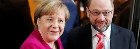 """Union und SPD auf der Zielgraden: Sondierer kämpfen um """"Herzensanliegen"""""""