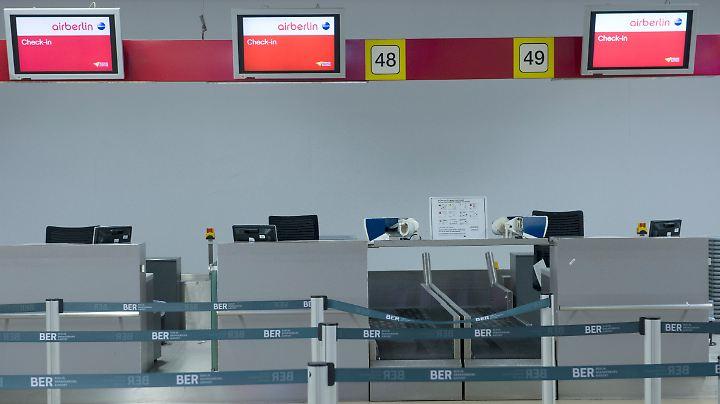 Bei Air Berlin ist nichts mehr zu holen.