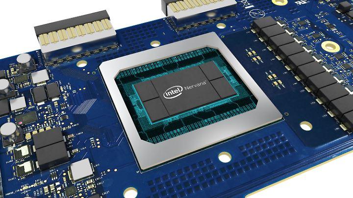 """Intels Chip """"Nervana"""" ist ein KI-Spezialist."""