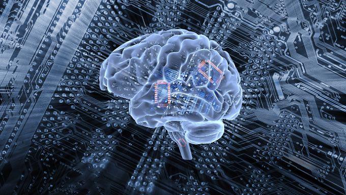 Künstliche Intelligenz ahmt Fuktionen des menschlichen Gehirns nach, ist ihm bisher aber nur in Teilbereichen überlegen.
