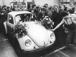Weltweiter Kult hält an: Letzter deutscher Käfer vor 40 Jahren gebaut