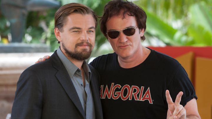 Coole Typen, cooler Film? Ab August 2019 wissen Fans von Leonardo DiCaprio und Quentin Tarantino mehr.