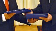 Iran will am bestehenden Atomabkommen nicht rütteln.