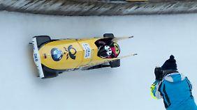 Nico Walther saß in St. Moritz im schnellsten Zweierbob.