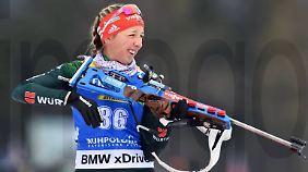 Hat trotz Top-Leistungen kein Olympia-Ticket: Biathletin Franziska Preuß.